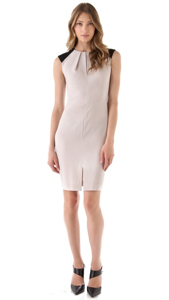 Rachel Roy Tropical Wool Sheath Dress