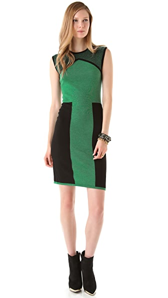 Rachel Roy Wool Block Dress