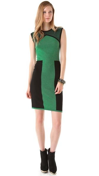 Rachel Roy Wool Block Dress