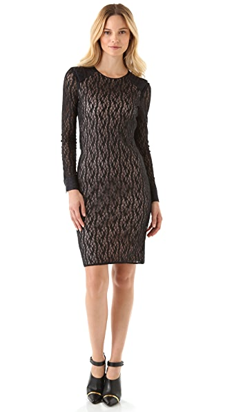 Rachel Roy Lace Combo Dress