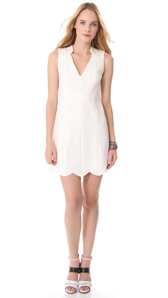 Rachel Roy Scallop Dress