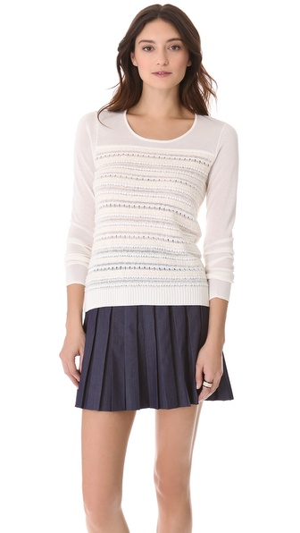 Rachel Roy Novelty Crew Sweater