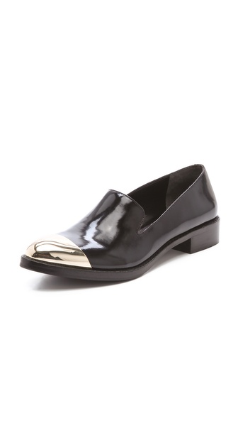 Rachel Roy Lyannah Cap Smoking Flats