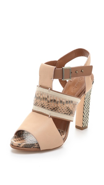 Rachel Roy Faye Mixed Media Sandals | SHOPBOP from shopbop.com
