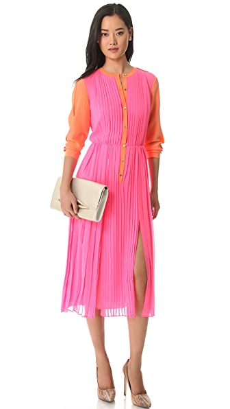 Rachel Roy Pleated Dress