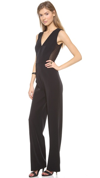 Rachel Roy Mesh Back Jumpsuit