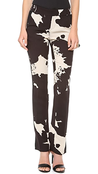 Rachel Roy Hide Print Pants