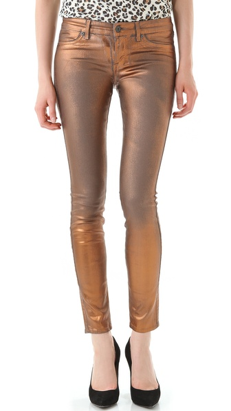 Rich & Skinny Legacy Sanded Foil Jeans
