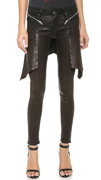 RtA Leather Cobain Pants