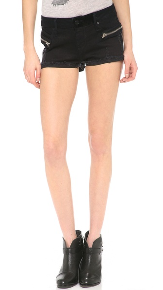 RtA Hip Zip Cutoff Shorts