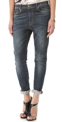 R13 Slouchy Skinny Jeans
