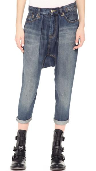 R13 Vintage Harem Jeans