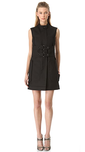 Rue du Mail Double Buckle Shirtdress