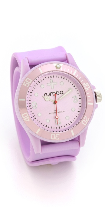 RumbaTime Sweet Lilac Perry Slap Watch