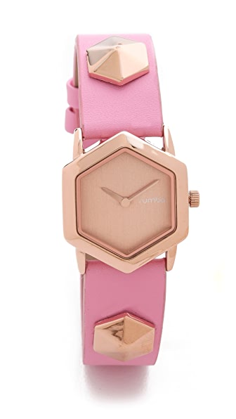 RumbaTime TriBeCa Rose Smoke Watch