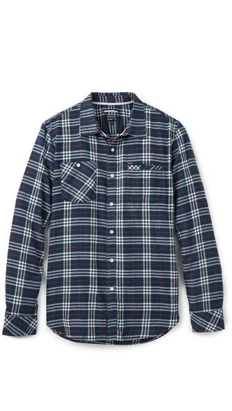 RVCA Bazz Plaid Shirt