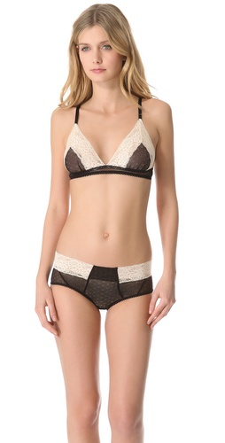 Samantha Chang Lingerie Meet Me at Midnight Triangle Bralette
