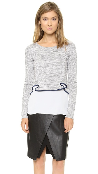 Sachin + Babi Sandra Cropped Sweater