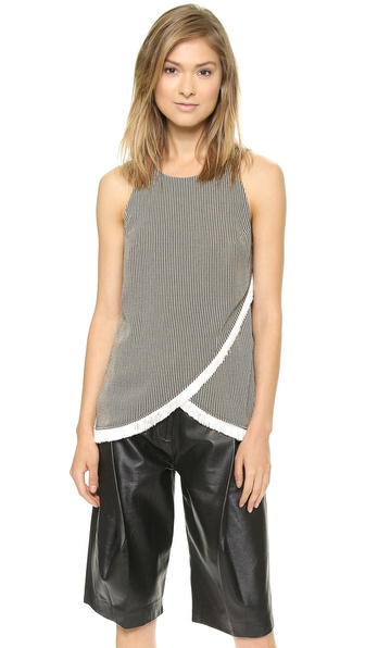 Sachin + Babi Ree Striped Open Back Tank