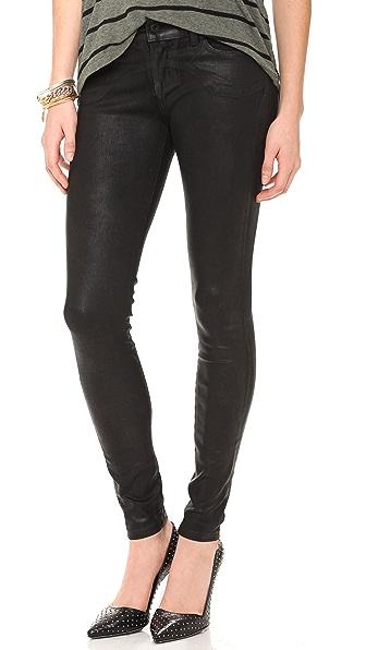 MODERNSAINTS Coated Peg Leg Jeans