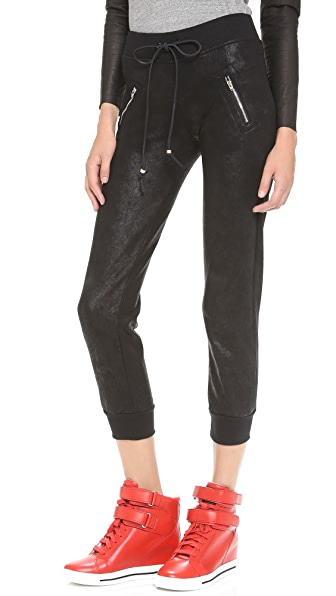 MODERNSAINTS Coated Skinny Sweats