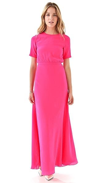 Saloni Tamara Solid Gown
