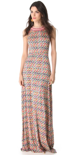 Saloni Ines Maxi Dress