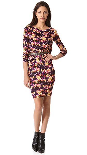 Saloni Frida Sleeveless Dress
