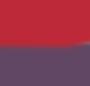 Aubergine Purple/Wine Red