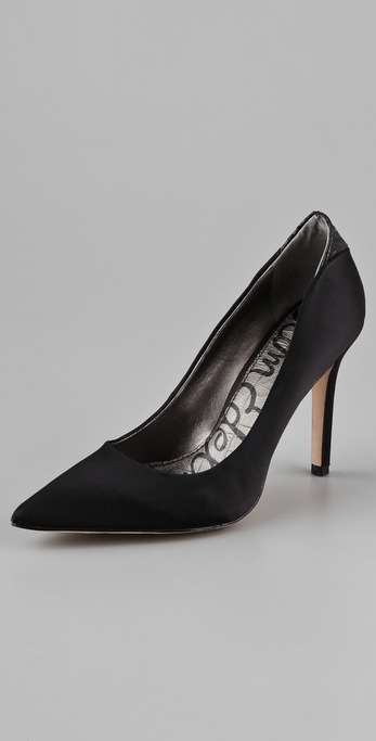 Sam Edelman Portney Satin Pumps