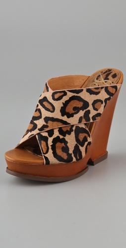 Sam Edelman Jorgia Haircalf Cutout Wedge Sandals