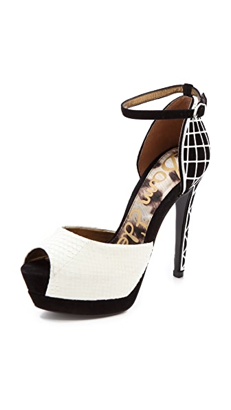 Sam Edelman Paulette Peep Toe Pumps