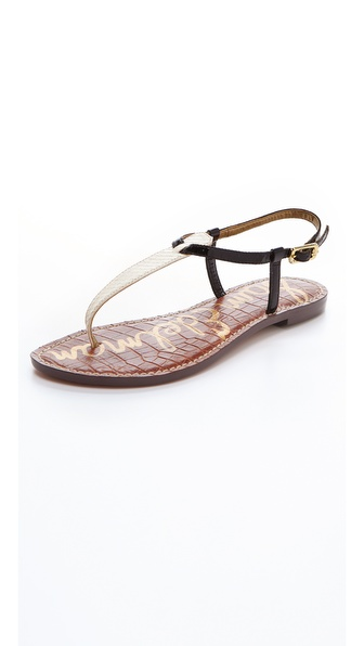 Sam Edelman Gigi T Strap Flat Sandals