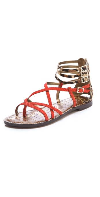 Sam Edelman Gable Strappy Haircalf Sandals