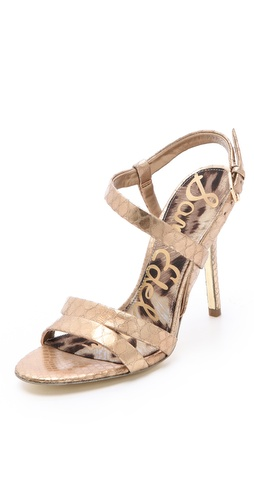 Shop Sam Edelman Abbott Metallic Sandals - Sam Edelman online - Footwear,Womens,Sandals,Heeled_Sandals, at Lilychic Australian Clothes Online Store