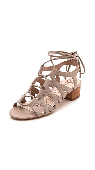 Sam Edelman Ardella Low Heel Sandals