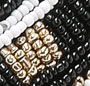 Black/Black/Ivory/Black/Gold