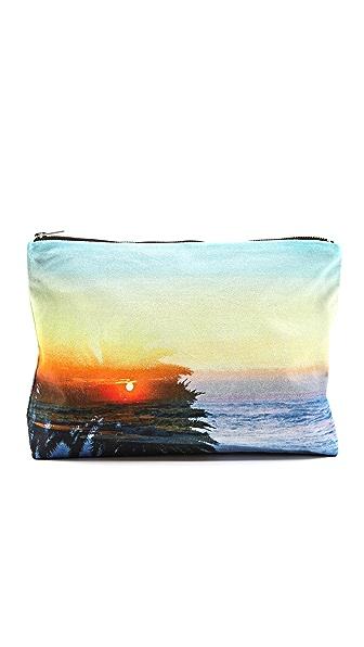 Samudra Sunset Beach Pouch