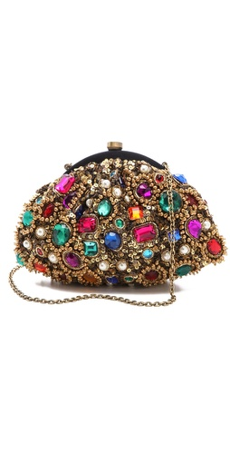 Santi Jewel Encrusted Clutch at Shopbop.com