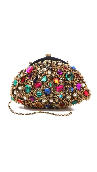 Santi Jewel Encrusted Clutch