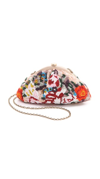 Santi Flower Clutch