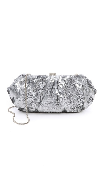 Santi Sequin Clutch
