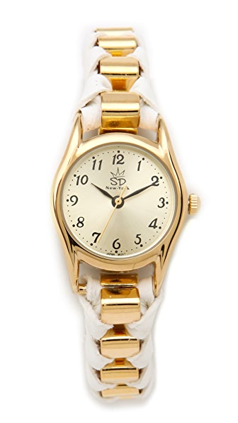 Sara Designs NY Box Chain Watch