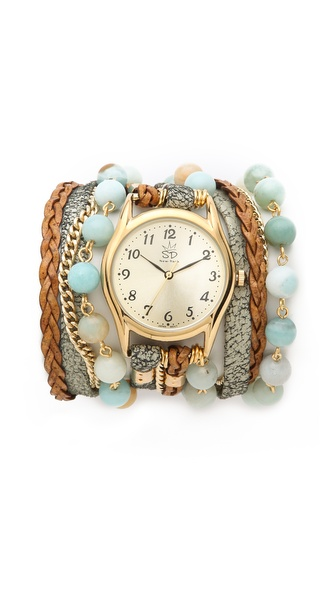 Sara Designs Agate Watch