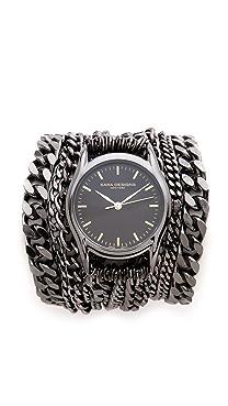 Sara Designs All Chain Wrap Watch
