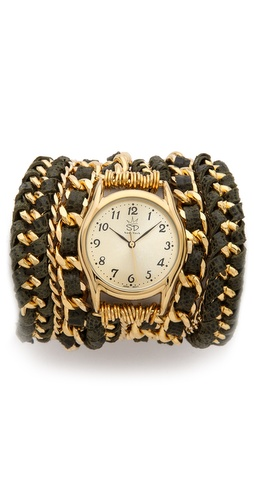 Sara Designs Woven Wrap Watch at Shopbop / East Dane
