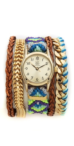 Sara Designs Bright Woven Magenetic Watch at Shopbop / East Dane