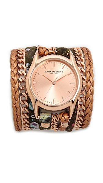 Sara Designs Splash Wrap Watch