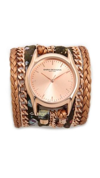 Sara Designs Splash Wrap Watch