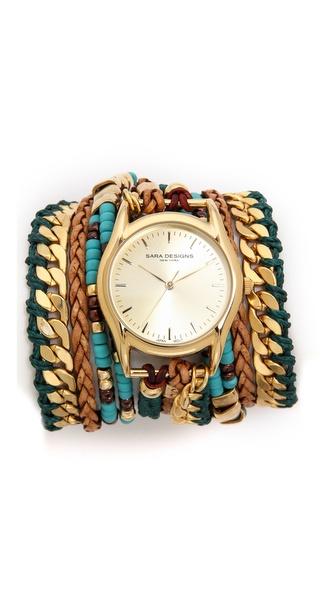 Sara Designs Massai Wrap Watch